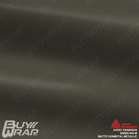 avery matte metallic gunmetal