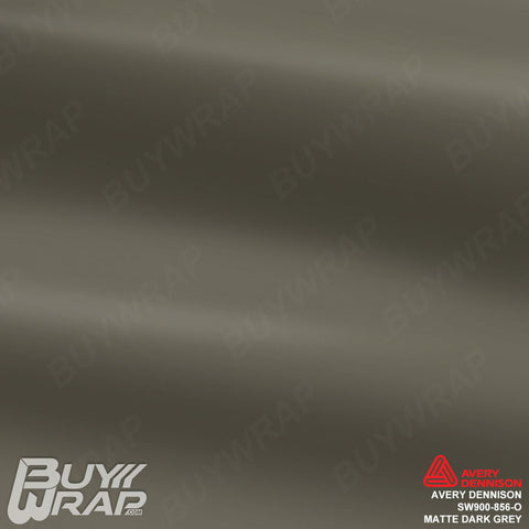 Avery Dennison SW900-856-O Matte Dark Grey Vinyl Film Wrap