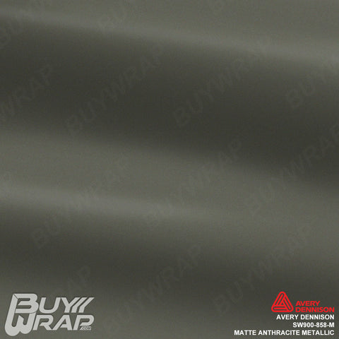 avery matte metallic anthracite