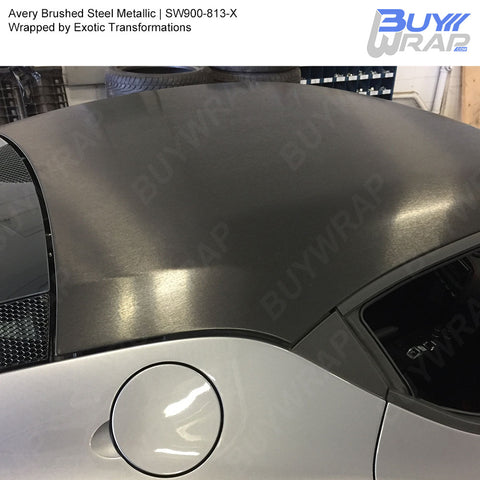 Avery SW900 Brushed Steel Metallic Wrap | SW900-813-X