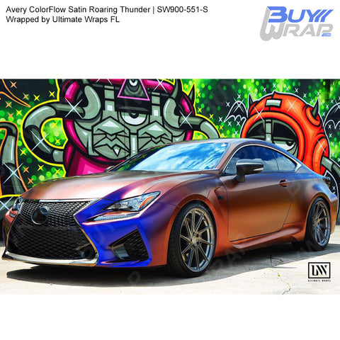 Avery SW900 ColorFlow Series Satin Roaring Thunder Wrap | SW900-551-S