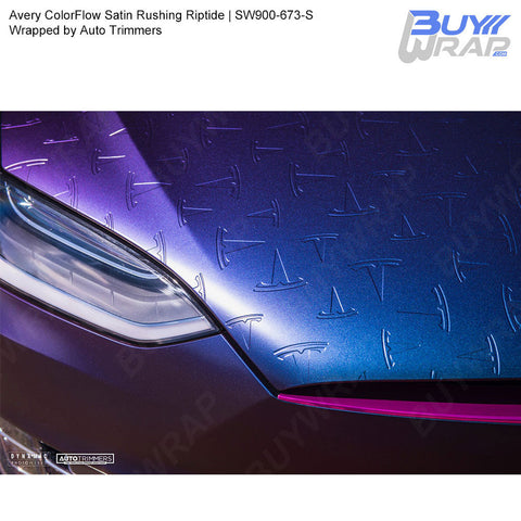 Avery SW900 ColorFlow Series Satin Rushing Riptide Wrap | SW900-673-S