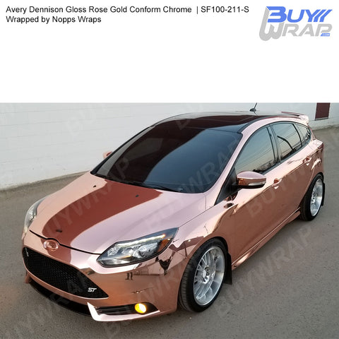 Avery Rose Gold Conform Chrome Wrap | SF100-211-S