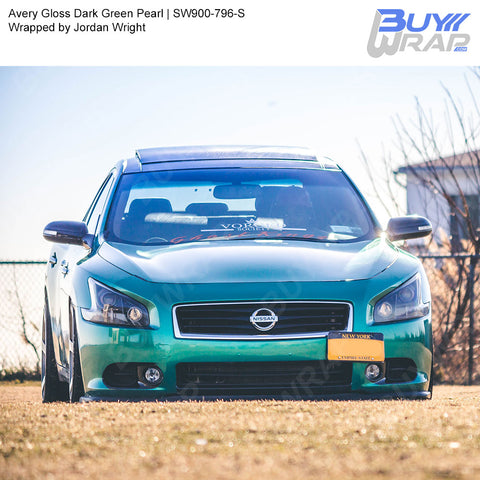 Avery SW900 Gloss Dark Green Pearl Wrap | SW900-796-S