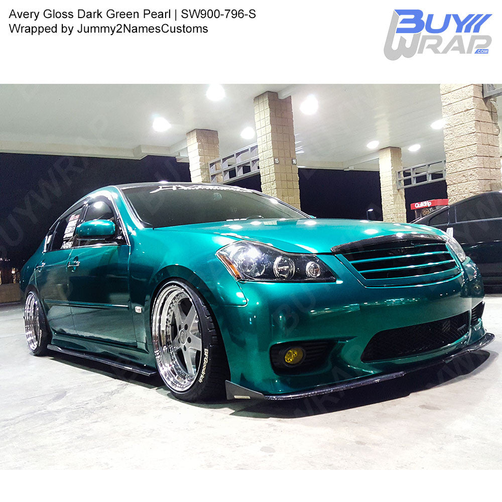 Avery Sw900 Gloss Dark Green Pearl Wrap Sw900 796 S