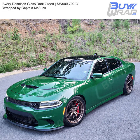 Avery SW900 Gloss Dark Green Wrap | SW900-792-O