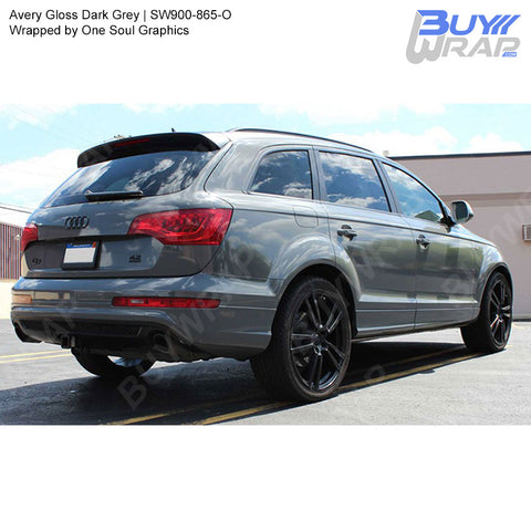 Avery SW900 Gloss Dark Grey Wrap | SW900-865-O