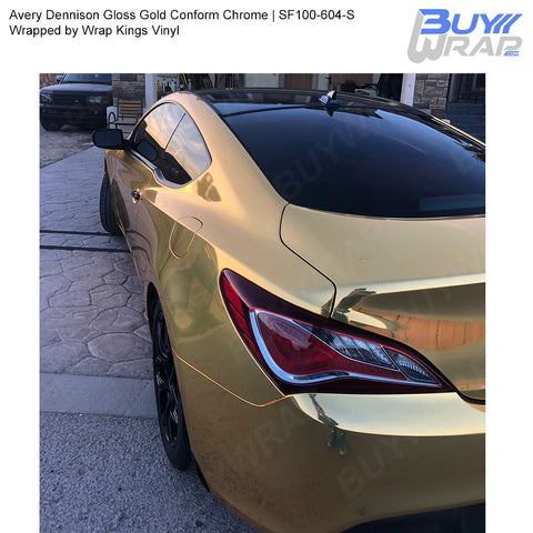 Avery Gold Conform Chrome Wrap | SF100-604-S