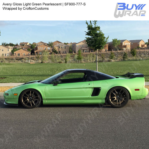 Avery SW900 Gloss Light Green Pearlescent Wrap | SW900-777-S