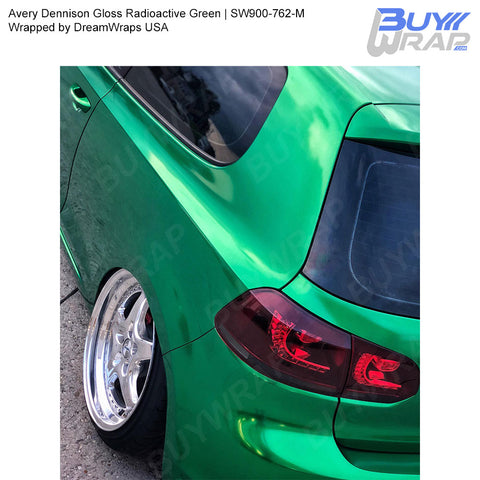 Avery SW900 Gloss Radioactive Green Wrap | SW900-762-M