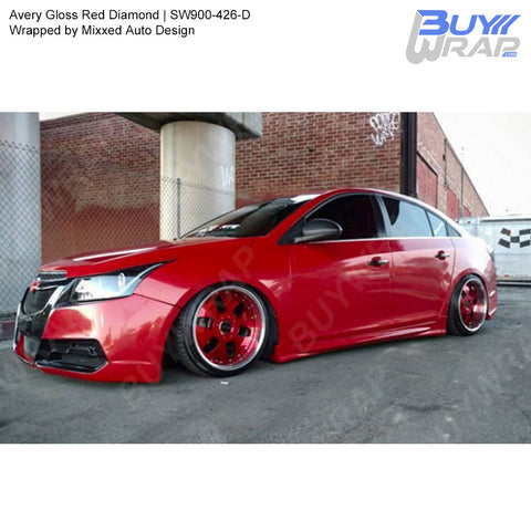 Avery SW900 Gloss Red Diamond Wrap | SW900-426-D