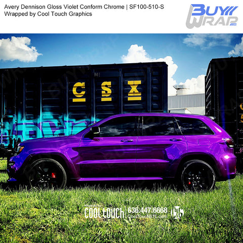 Avery Violet Conform Chrome Wrap | SF100-510-S