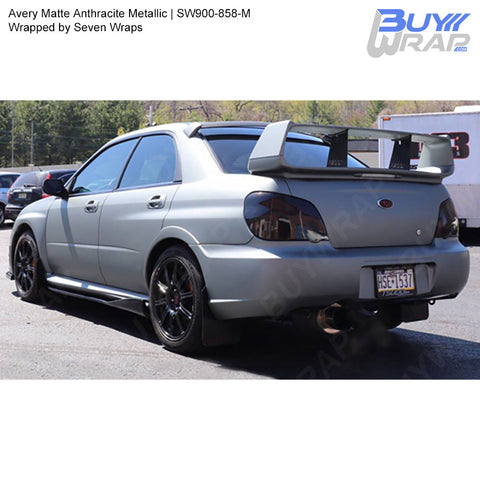 Avery SW900 Matte Anthracite Metallic Wrap | SW900-858-M
