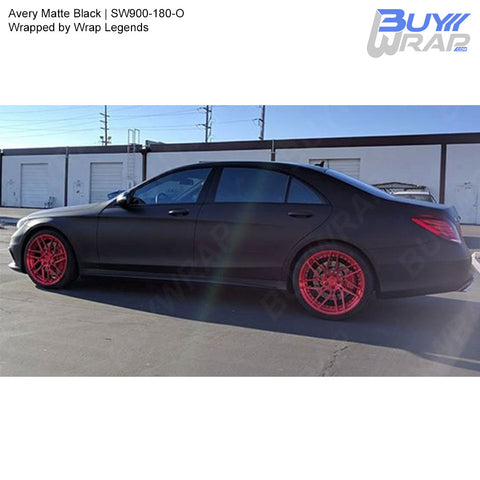 Avery SW900 Matte Black Wrap | SW900-180-O