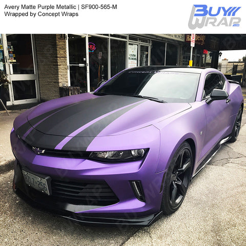 Avery SW900 Matte Purple Metallic Wrap | SW900-565-M