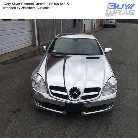 Avery Silver Conform Chrome Wrap | SF100-843-S