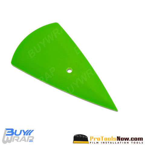 The Contour Green Vinyl Installation Squeegee | Soft