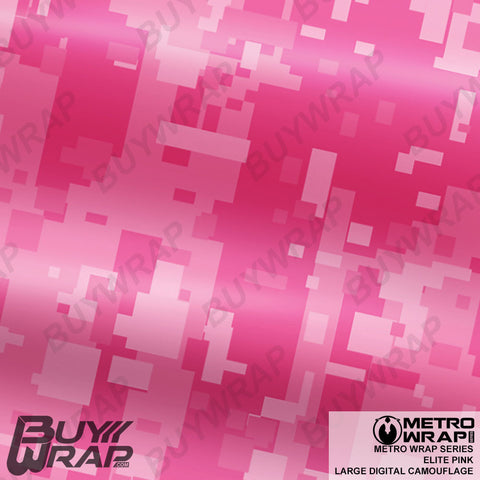 large digital elite pink camo
