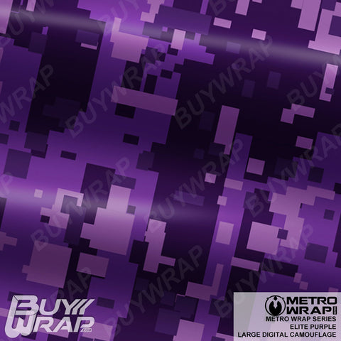 large digital elite purple camo