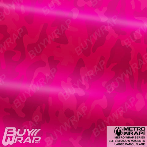 Metro Wrap Series Large Elite Shadow Magenta Camouflage car Vinyl Wrap Film