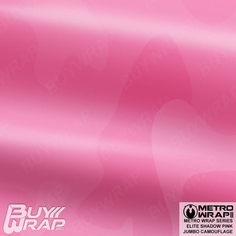 Metro Wrap Series Jumbo Elite Shadow Pink Camouflage Vinyl Wrap Film