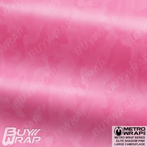 Metro Wrap Series Large Elite Shadow Pink Camouflage Vinyl Automotive Wrap Film