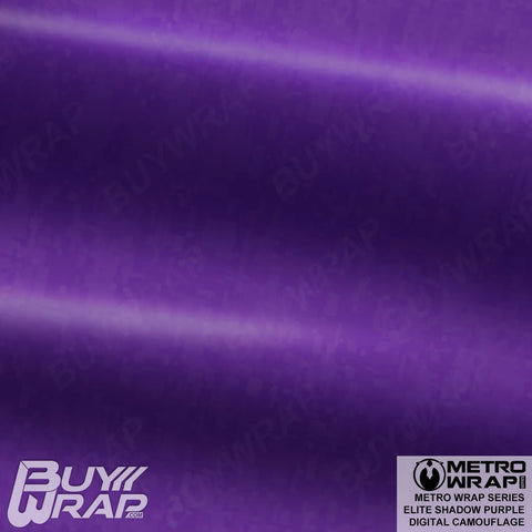Metro Wrap Series Digital Elite Shadow Purple Camouflage Vinyl Wrap Film