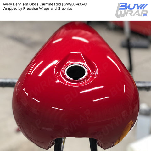 Avery SW900 Gloss Carmine Red Wrap | SW900-436-O