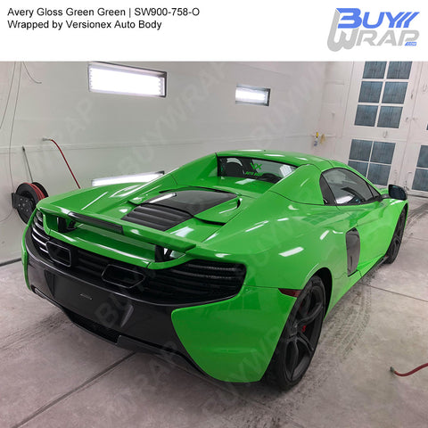 Avery SW900 Gloss Grass Green Wrap | SW900-758-O