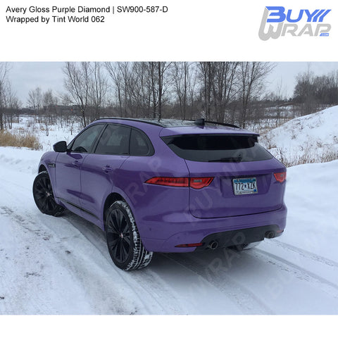 Avery SW900 Gloss Purple Diamond Wrap | SW900-587-D