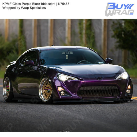 KPMF Gloss Purple Black Iridescent Wrap | K75465