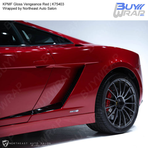 KPMF Gloss Vengeance Red Wrap | K75403