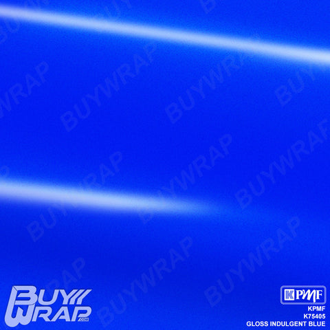 KPMF K75405 Gloss Indulgent Blue vehicle vinyl film