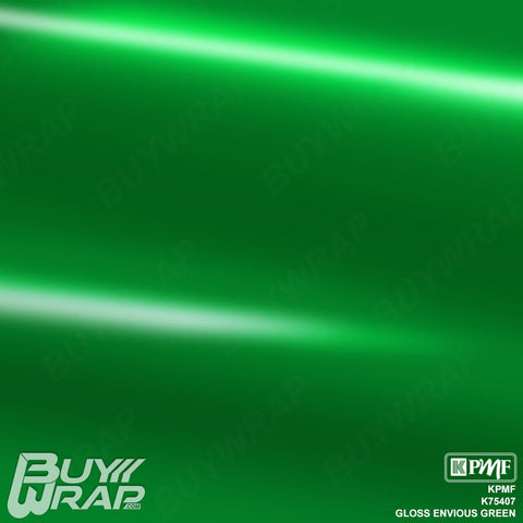 KPMF K75407 Gloss Envious Green vinyl film for car wrapping