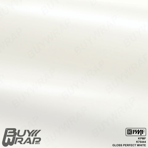 KPMF Gloss Perfect White Wrap | K75444