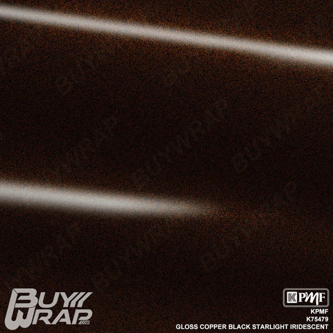 KPMF K75479 Gloss Copper Black Starlight Vinyl Wrap