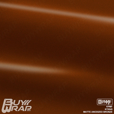 KPMF K75549 Matte Anodized Bronze vehicle vinyl wrap