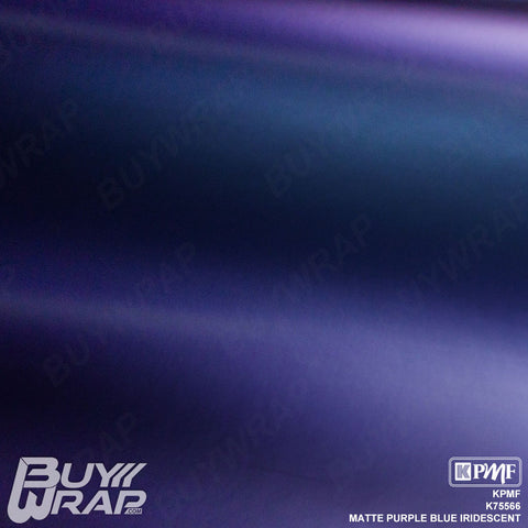 KPMF K75566 Matte Purple Blue Iridescent vinyl vehicle wrap film