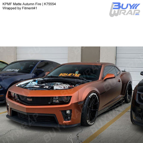 KPMF Matte Autumn Fire Wrap | K75554