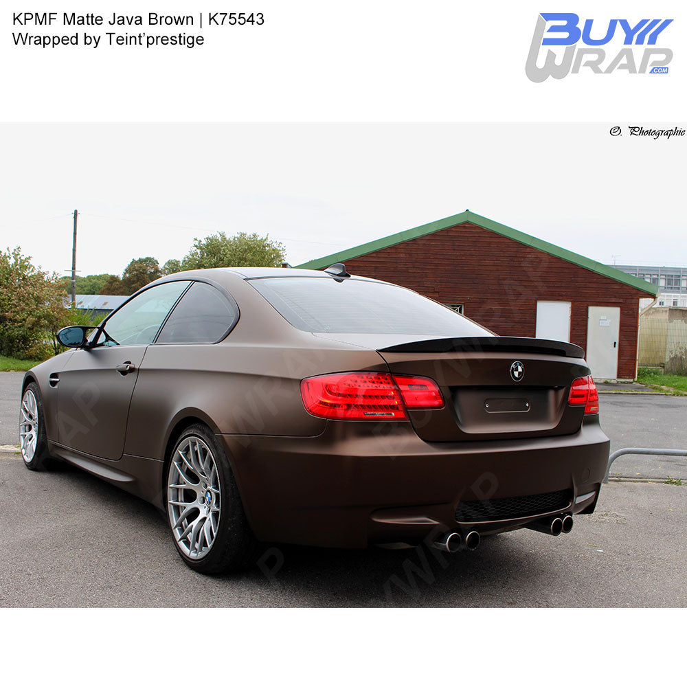 KPMF Matte Java Brown Wrap | K75543 – BuyWrap com
