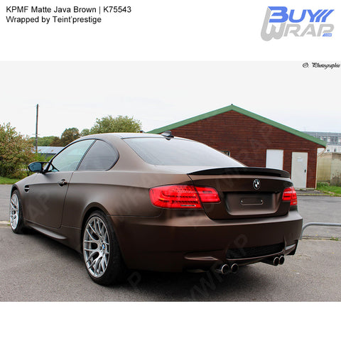 KPMF Matte Java Brown Wrap | K75543