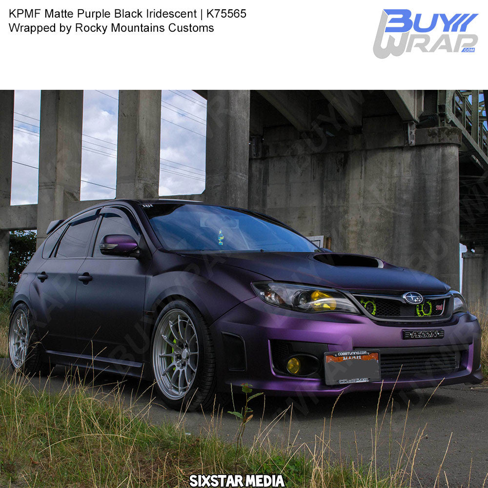 Kpmf Matte Purple Black Iridescent Wrap K75565 Buywrap Com