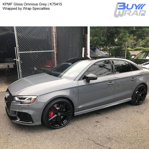KPMF Gloss Ominous  Grey Wrap | K75415