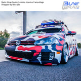 Metro Wrap Series Jumbo America Camouflage Auto Vinyl Wrap Wrapped by Mike Lee