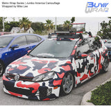Metro Wrap Series Jumbo America Camouflage Wrapping Vinyl Wrapped by Mike Lee
