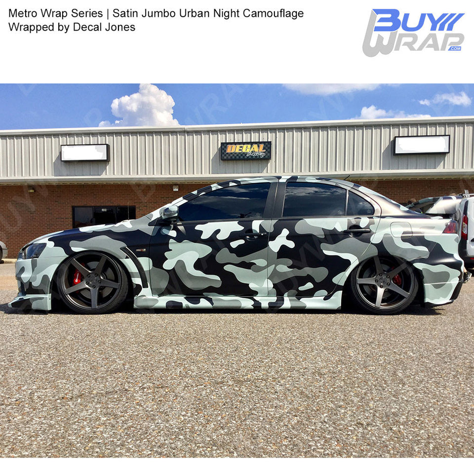 Jumbo Urban Night Camouflage Metro Wrap Series Buywrap Com