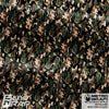 Metro Wrap Series Mini Woodland Camouflage Vinyl Wrap Film