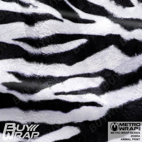 Metro Wrap Series Zebra Animal Print Car Wrap Film