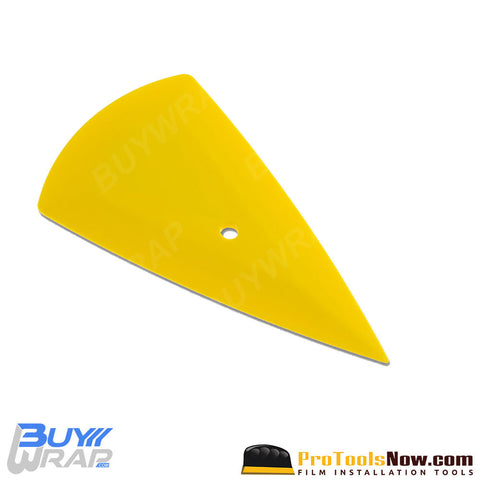The Contour Yellow Vinyl Installation Squeegee | Flex-Firm