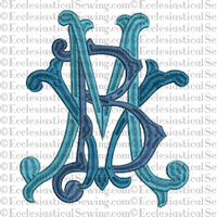 Blessed Virgin Mary - Religious Embroidery Machine Design